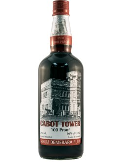 Cabot Tower Proof Rum