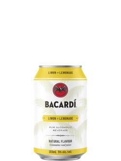 Bacardi Limon & Lemonade 6 Pack Cans