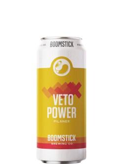 Boomstick Veto Power Pilsner 473ml Can