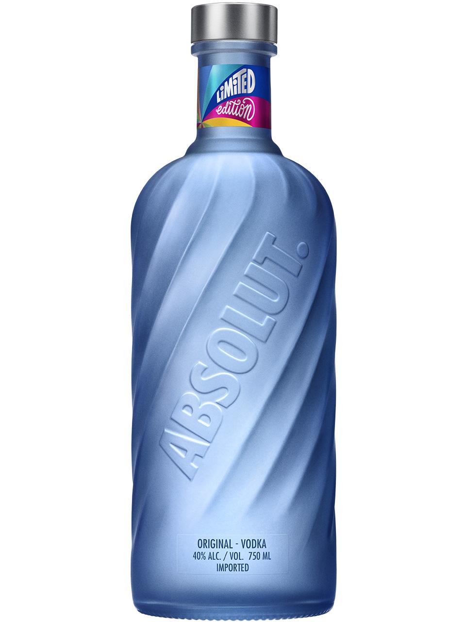 Absolut Swirl Limited Edition Bottle Vodka