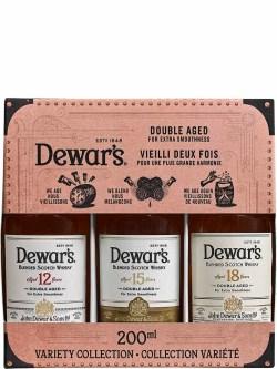 Dewar's Variety Collection 200ml Gift Pack
