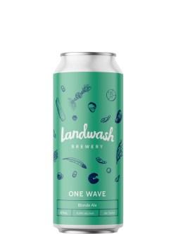 Landwash One Wave Blonde Ale 473ml Can
