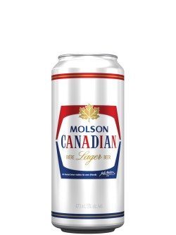 Molson Canadian Lager 473ml Can