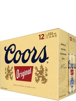 Coors Original 12 Pack Cans