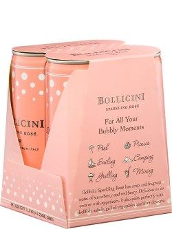 Bollicini Rose Sparkling 4pk