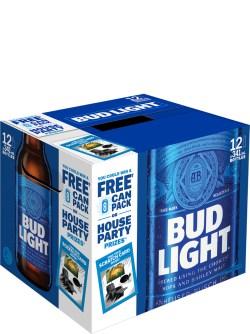 Bud Light 12 Pack Bottles