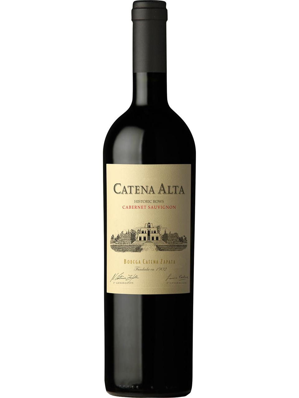 Catena Alta Cabernet Sauvignon 2018