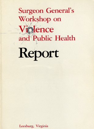 Cover, with bullet hole illustration.