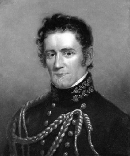 Image of an oil painting portrait of Joseph Lovell.