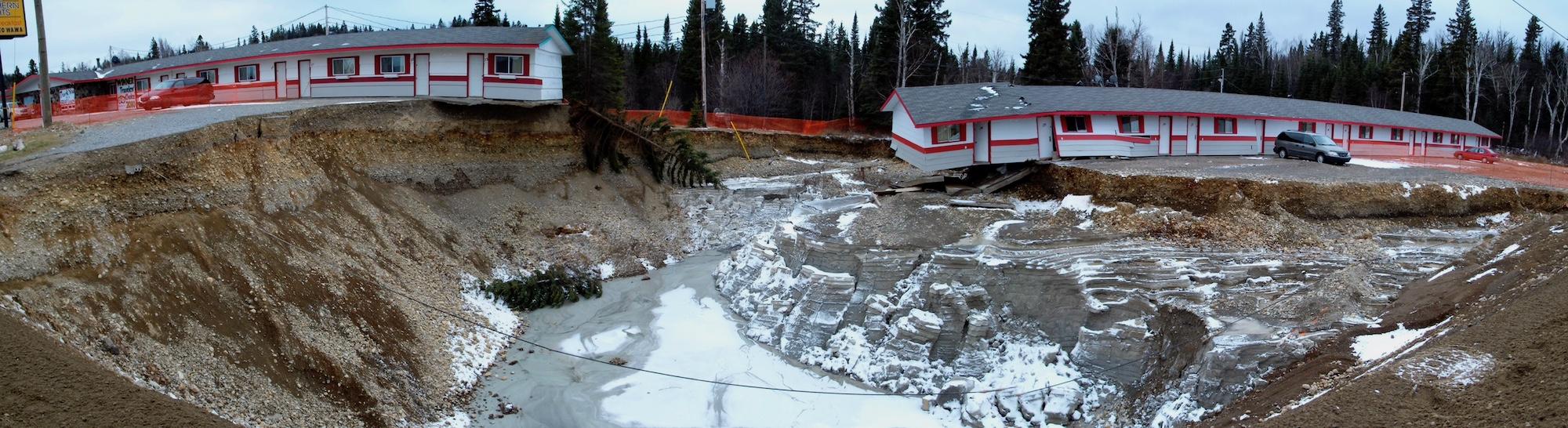 Wawa Northern Lights Motel Flood