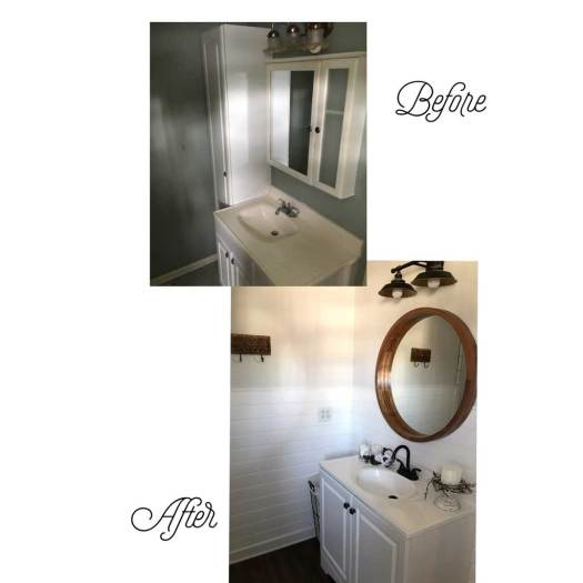 Bathroom2 - Before & After Renovations