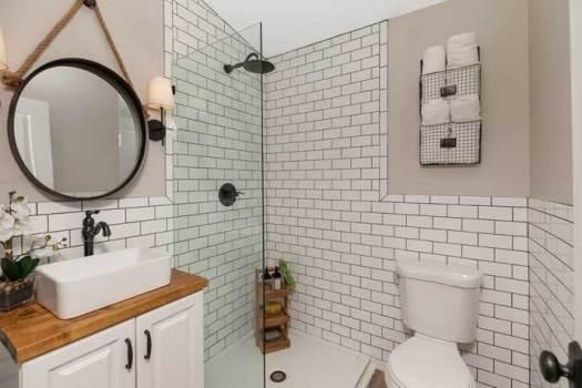 Added Master Bathroom - After Renovations