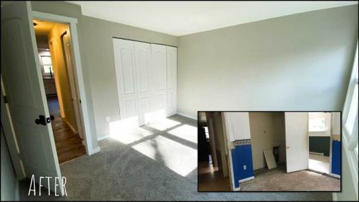 Bedroom2 - Before & After Renovations