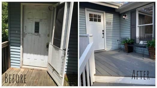 Front Door - Before & After Renovations