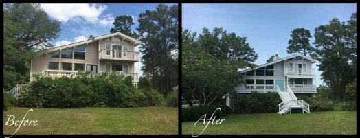 Exterior - Before & After Renovations