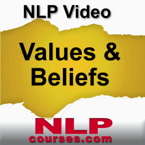 NLP courses Values & Beliefs video