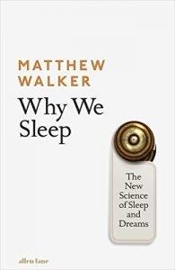 Why we sleep book