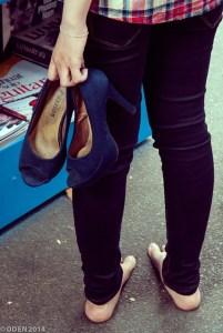 High, Heels