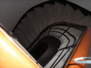 Spiral Stairs, Tunel Flat, Istanbul