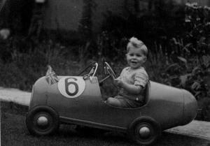 Phillip's Racing Peddle Car