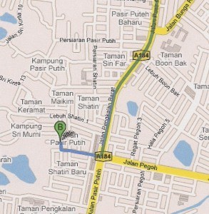 Ipoh Map