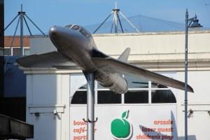 Hawker Hunter Woking