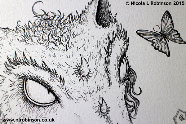 Pen and ink illustration © Nicola L Robinson All rights reserved www.nlrobinson.co.uk
