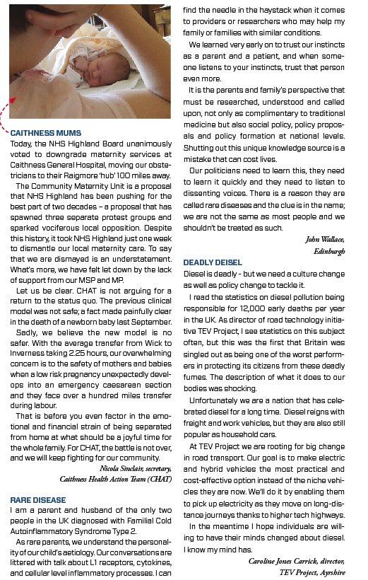 Holyrood Magazine 5th December 2016