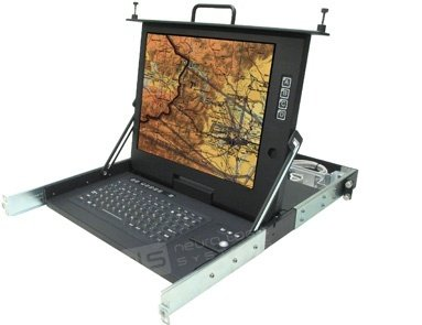 CSC-17-CAT5A-810-SK Rugged Military Monitor