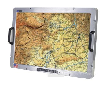 Rugged Display Products PM-30-PIP-28 Monitor, ANGLE