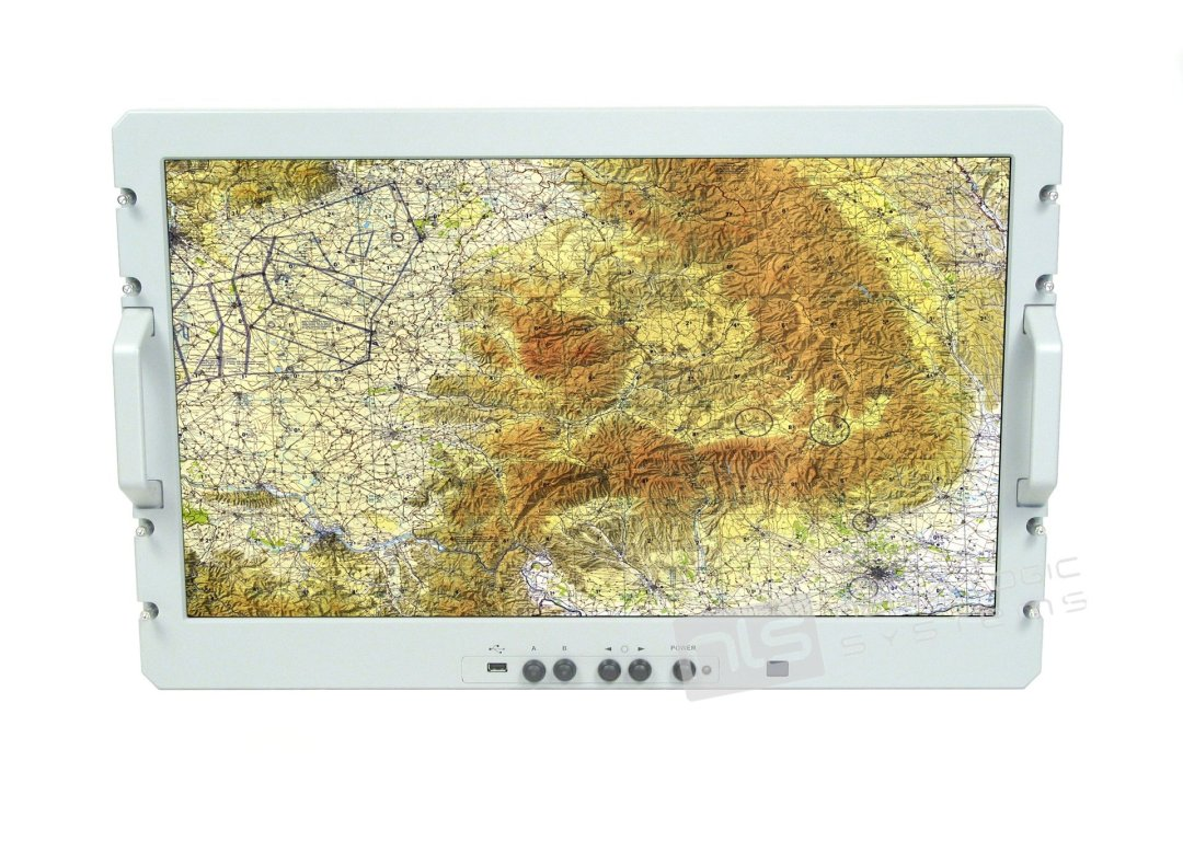 Rugged Display Products RF-27 monitor