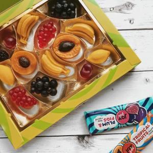 Joyfield мармелад, фруктовые батончики