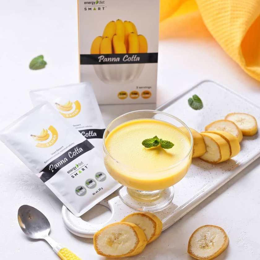 банан, банановый пудинг, energy diet