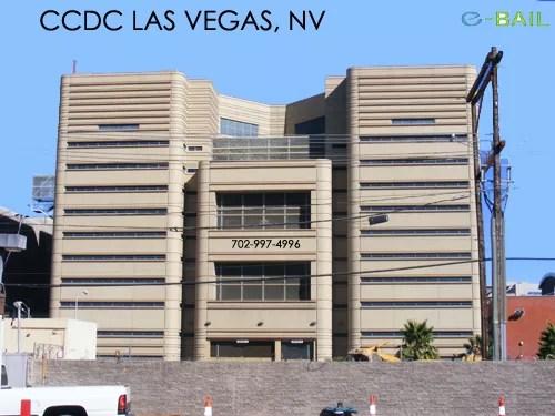 Back View  Clark County Detention Center Las Vegas Nv