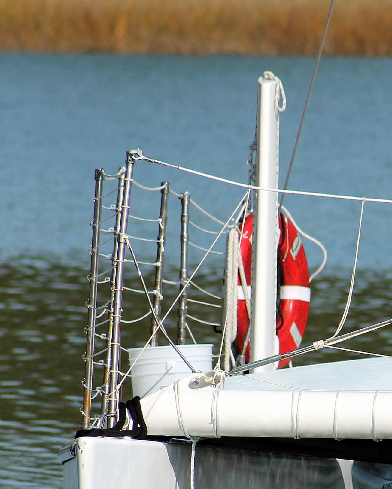 catamaran life preserver gal
