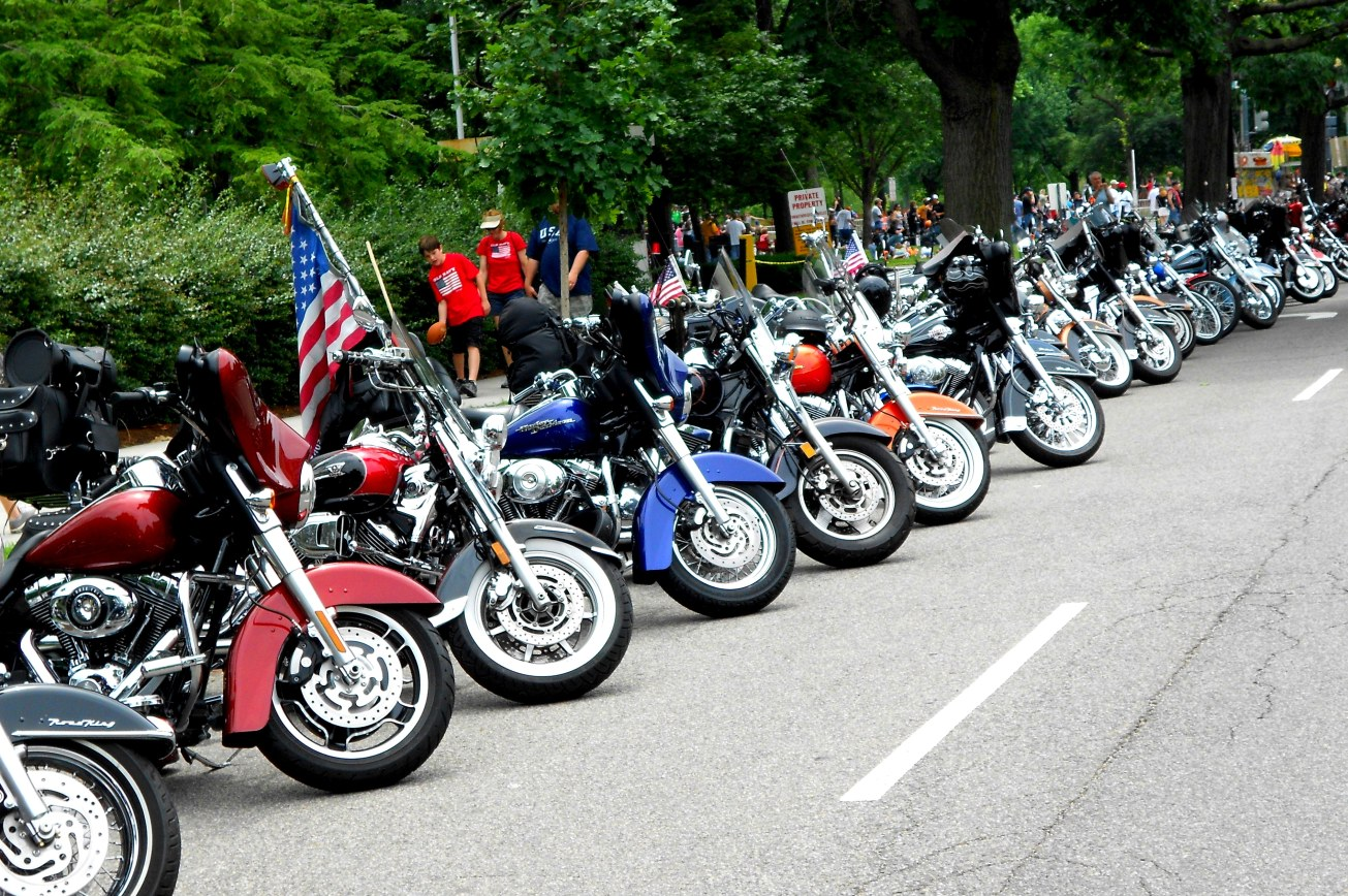 motorcycle line