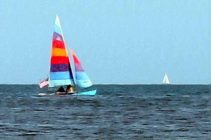 Sketched hobie cat 2 ret paint gall-002
