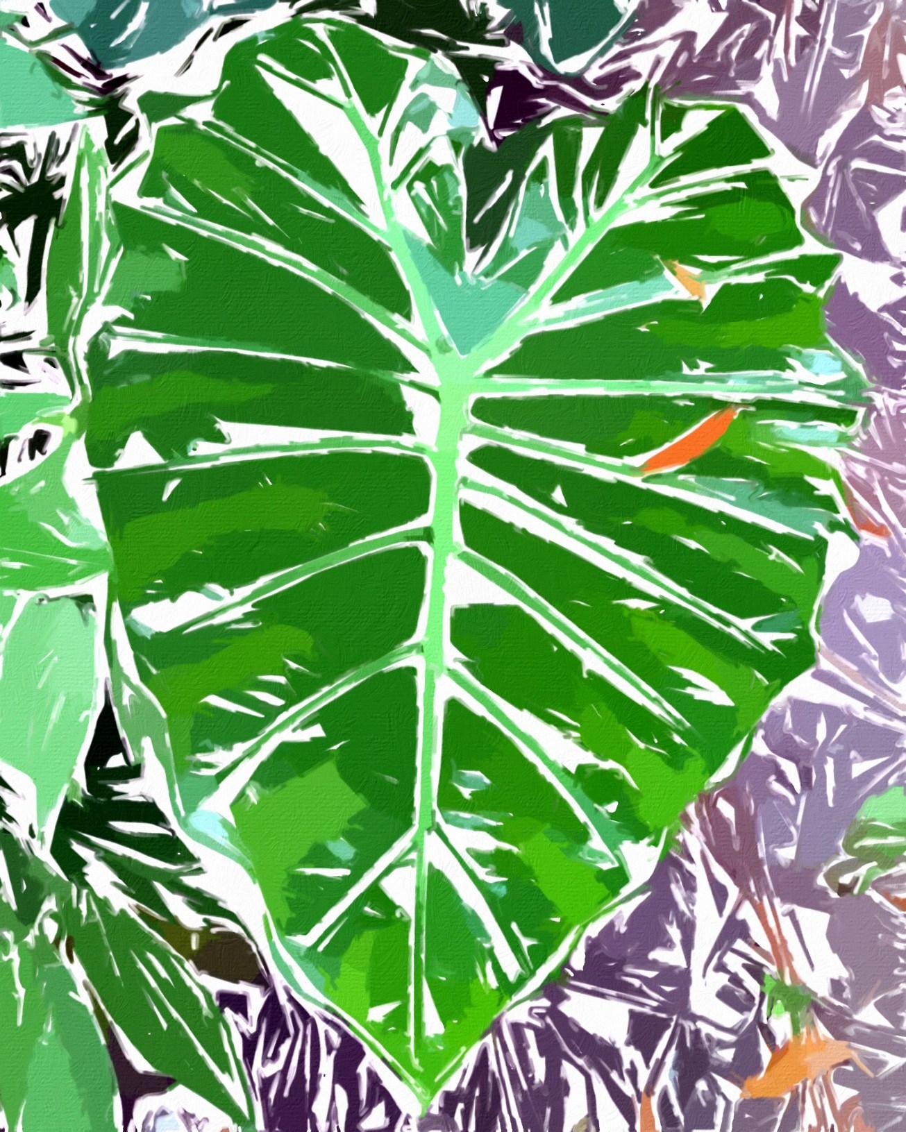 mask leaf ret gall