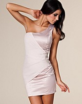 One Shoulder Satin Dress SEK 399, Elise Ryan - NELLY.COM