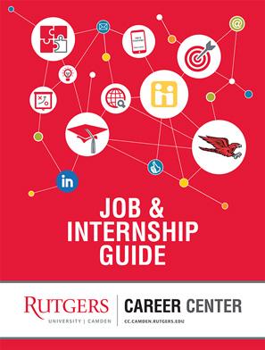 Rutgers-Camden's Job & Internship Guide cover image