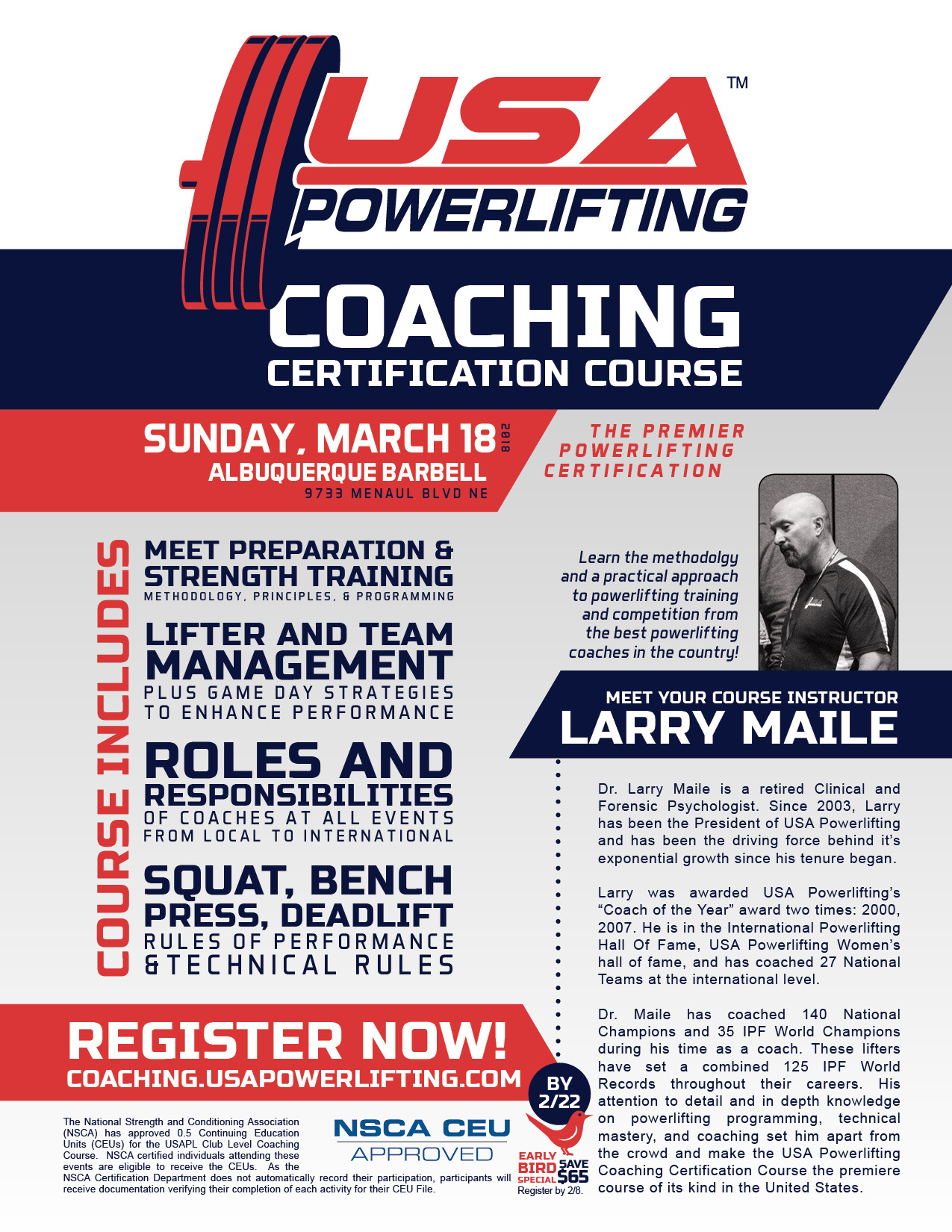 USAPowerlifting_CertificationCourse-Poster8.5x11_2018-3-18_Meile