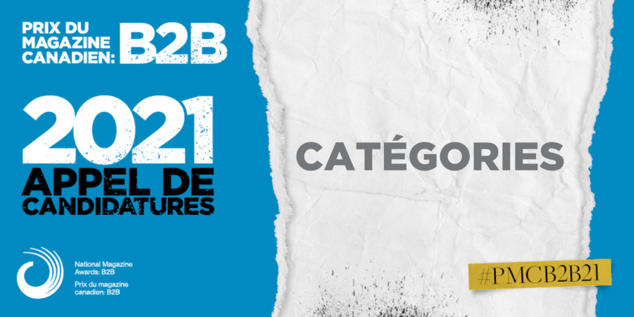 Prix du Magazine Canadien: B2B 2021 Categories