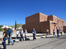 Tour departs from Lee Belle Center