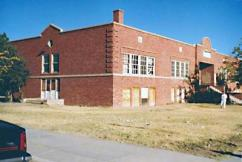 The old Lordsburg High School as pictured in 1985. (Frances Gutierrez Bush Photo)