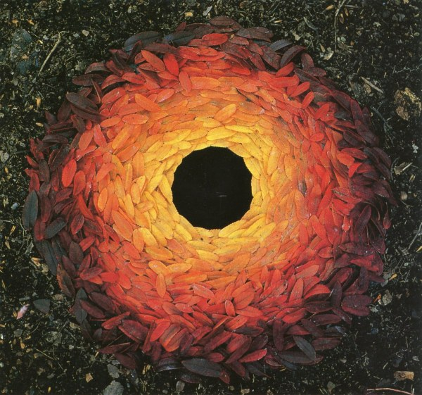 Inspirational Artist Feature Andy Goldsworthy Nicole