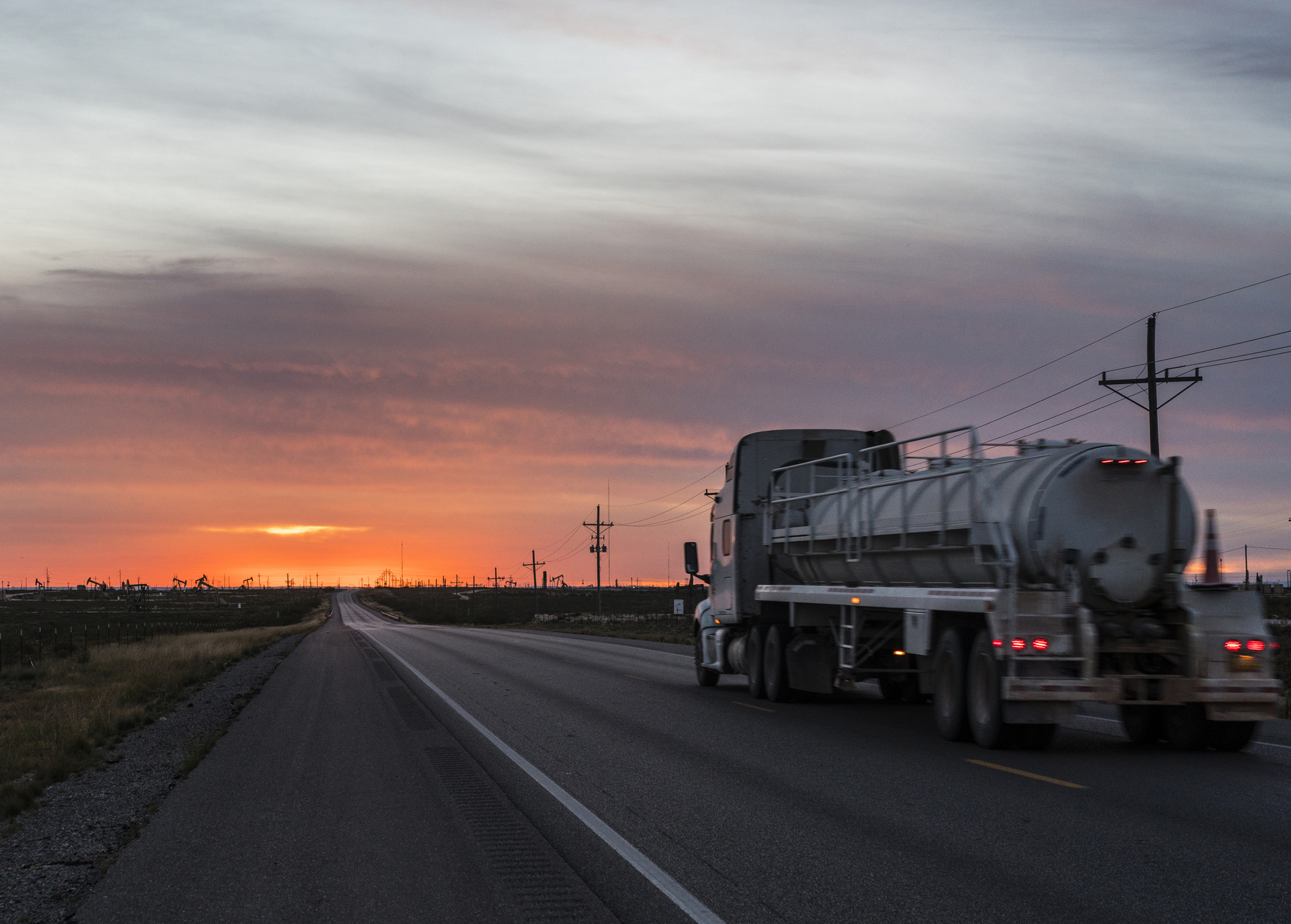 Dangerous oil field roads highlight the need for infrastructure improvements