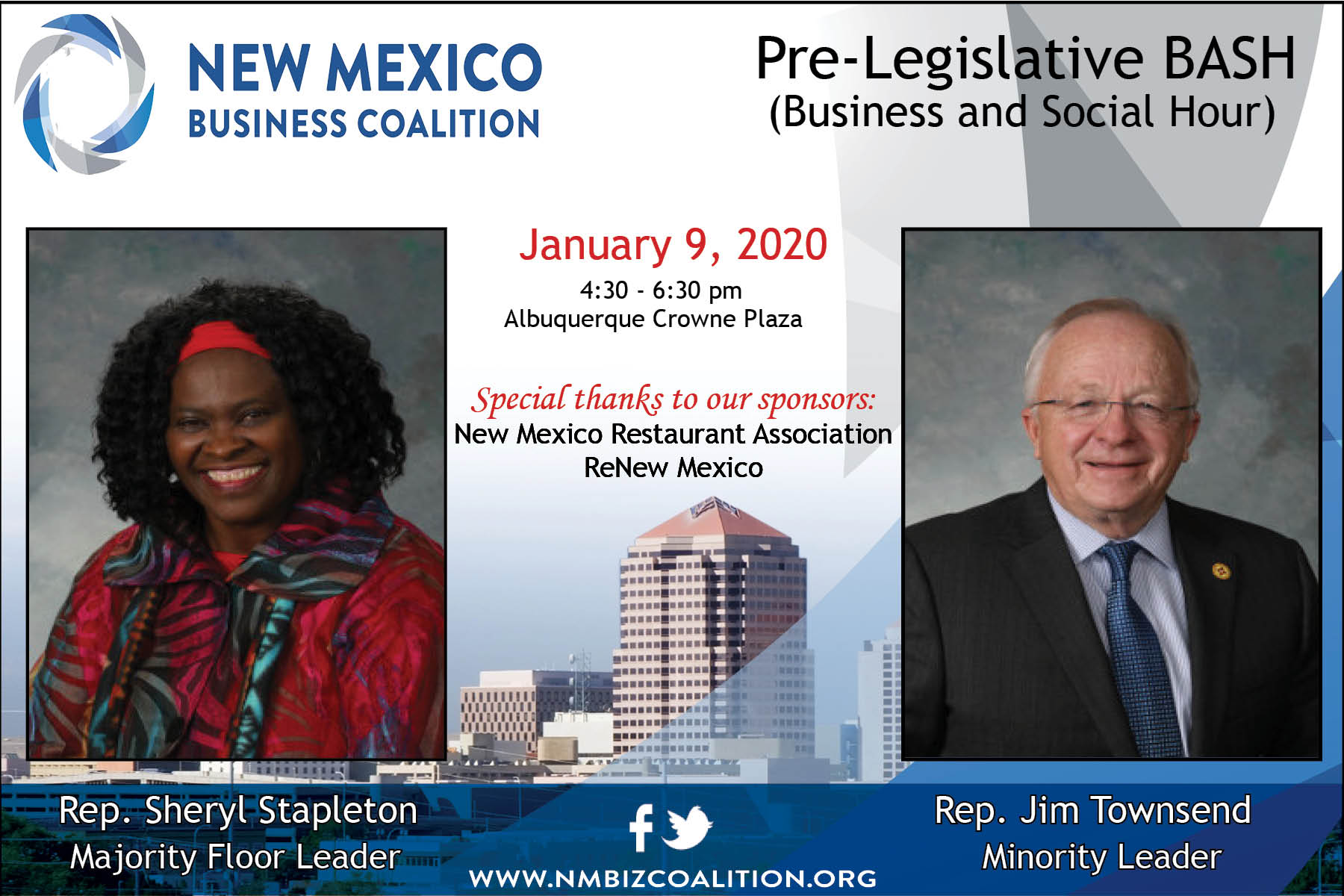 2020 Pre-Legislative Session BASH (Business and Social Hour)