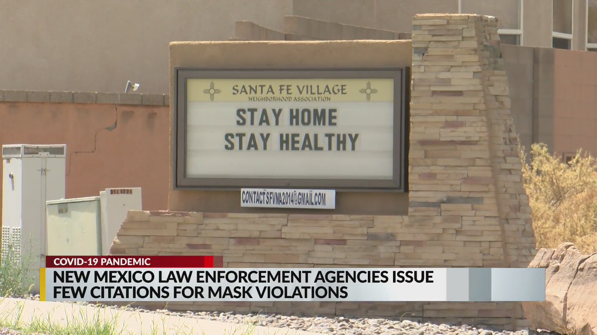 Read more about the article Covid-19 Enforcement Blitz Coming to Albuquerque