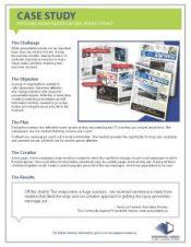 Case-Study-Preventable ca - Newspaper Ad Wrap