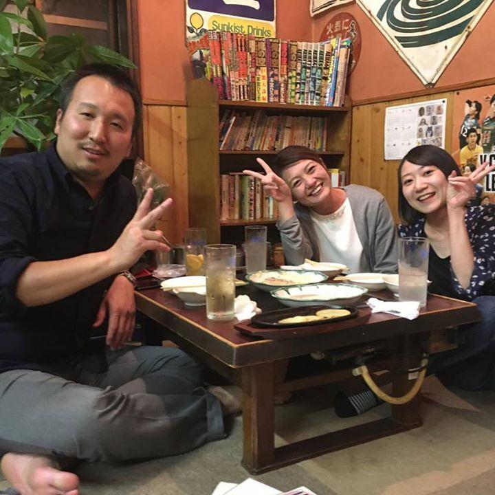 娘の同級生、ラーメン「風林火山」店主さんが来てくれました〜(*^_^*)